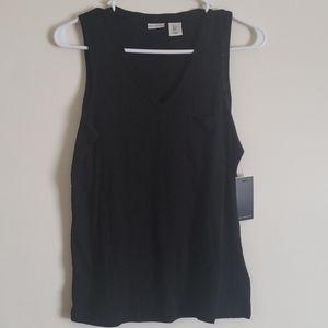 Max Studio Sleevless Shirt with Pocket